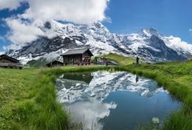 Best of the Swiss Alps Eiger and Matterhorn