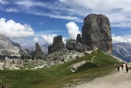Italian Dolomite hiking
