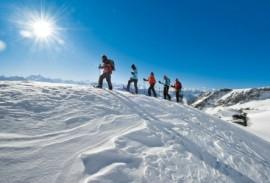 Chamonix snowshoeing