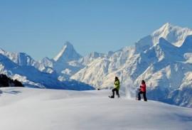 Valais Snowshoeing
