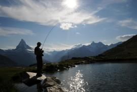 Fly fishing Zermatt