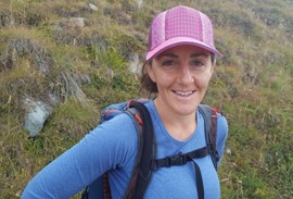 Chloé Georges, Trip Leader, UIMLA Certified International Mountain Leader