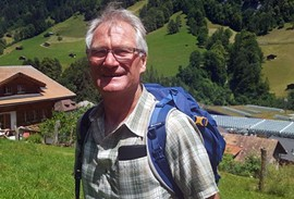 Hans Schlunegger, Tour Leader and Mountain Guide