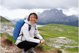 Wen-Di Adair, Tour Operations Manager, Bernese Oberland Traverse, Eiger to Matterhorn, Slovenia, Via Alpina