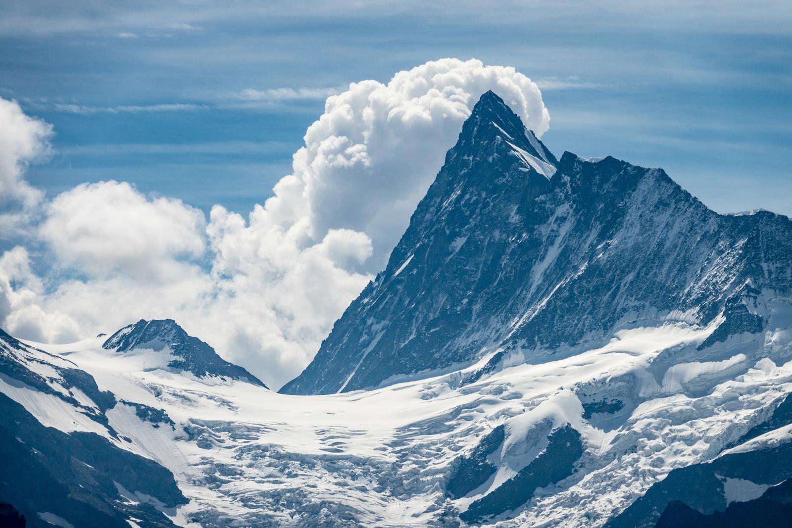 جبال الالب كما لم تراها من قبل