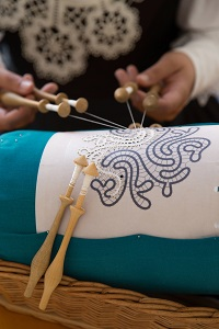Bobbin lace making in Slovenia