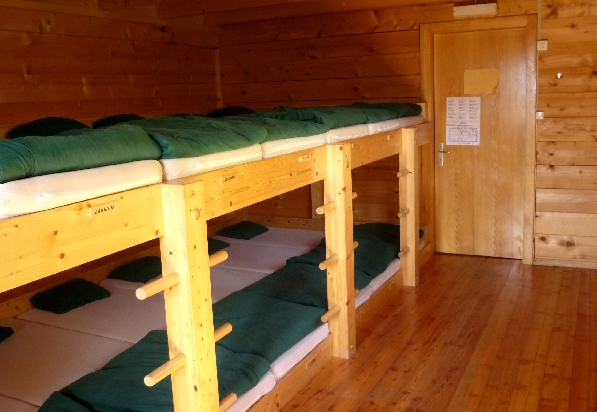 Louvie dormitory beds