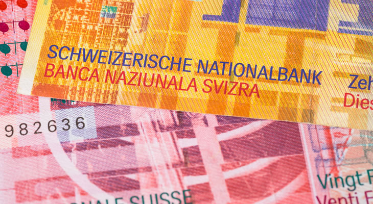 Swiss Francs -- currency