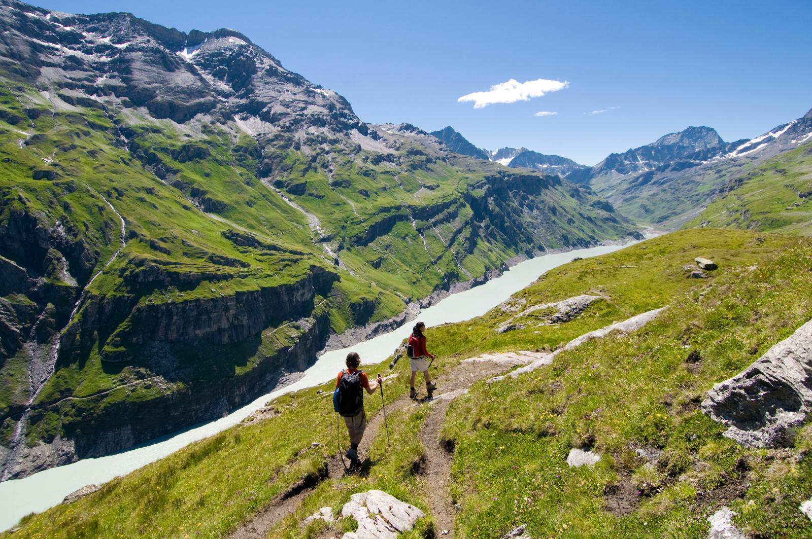 Hiking in Verbier