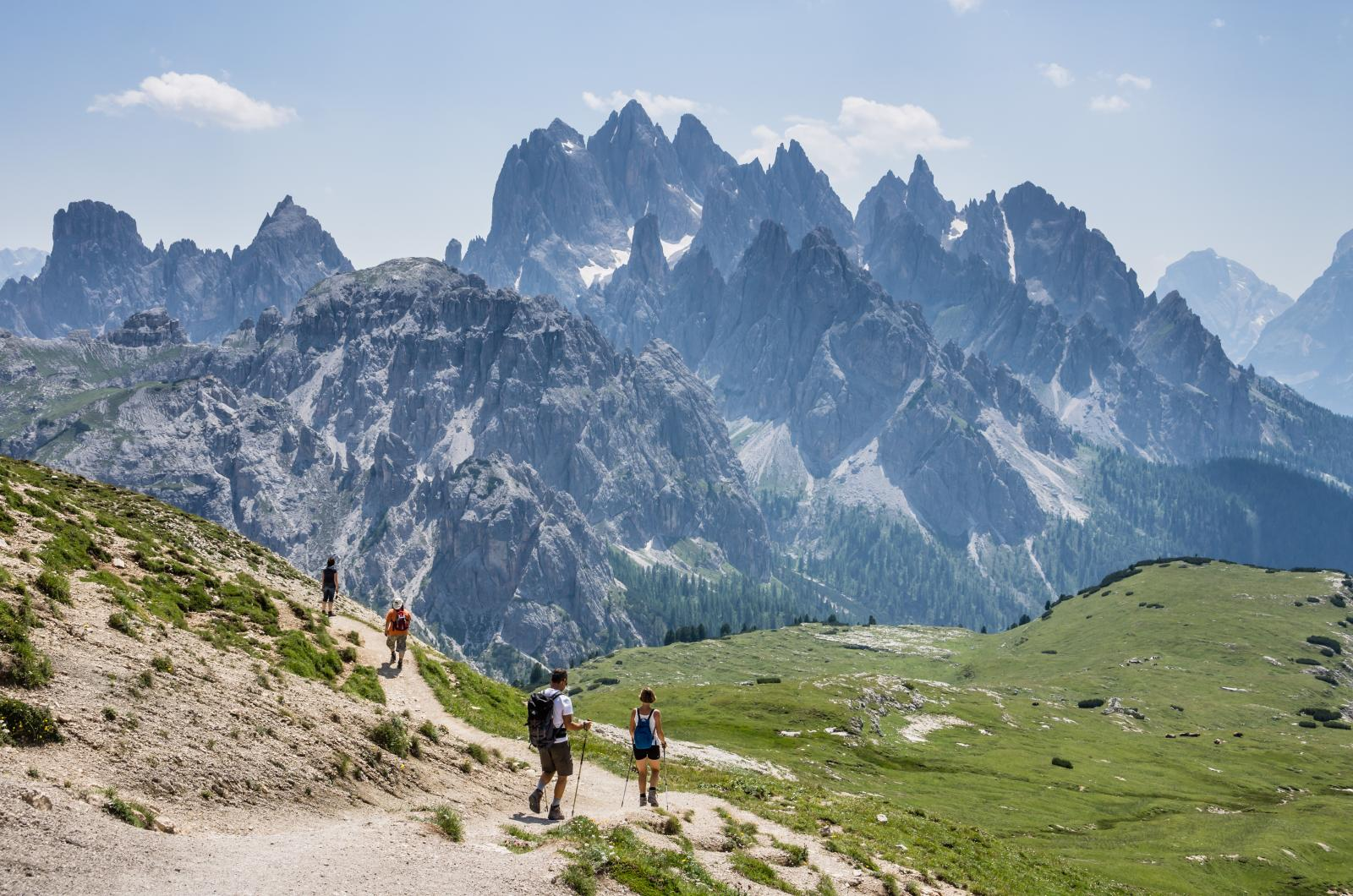 dolomites hiking tours guided and self guided alps hiking