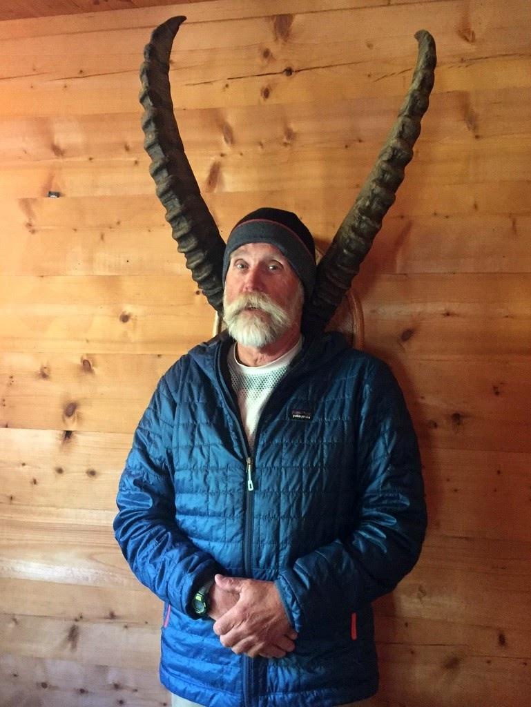 Ibex Horns at Cabane de Louvie
