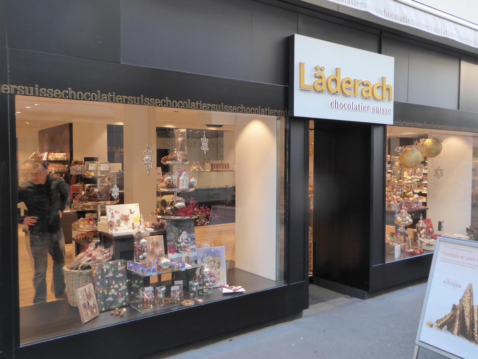 Laderach Chocolate Store