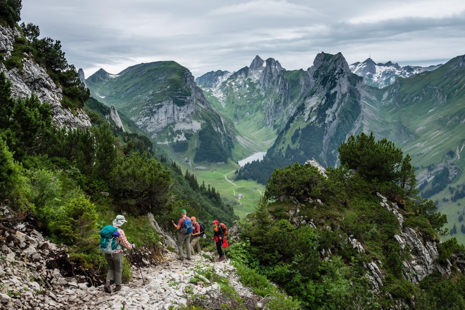 Alpstein range, Appenzell