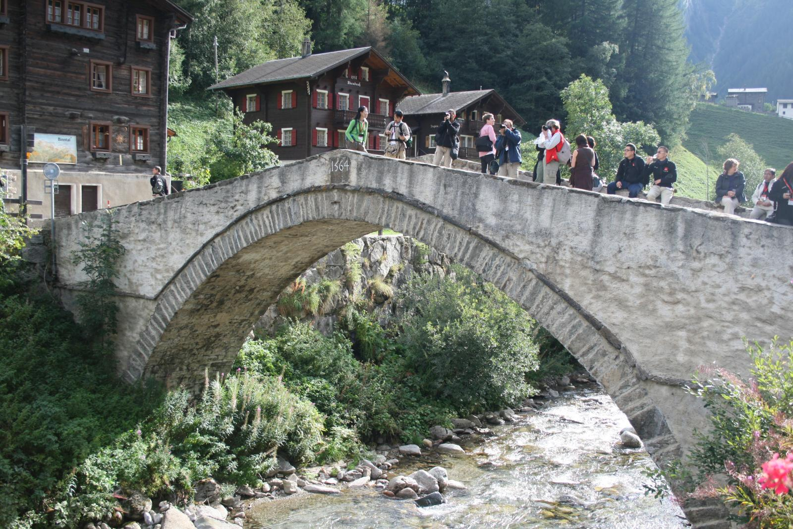 Binntall Binn Valley Switzerland