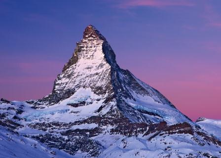 Matterhorn at dusk