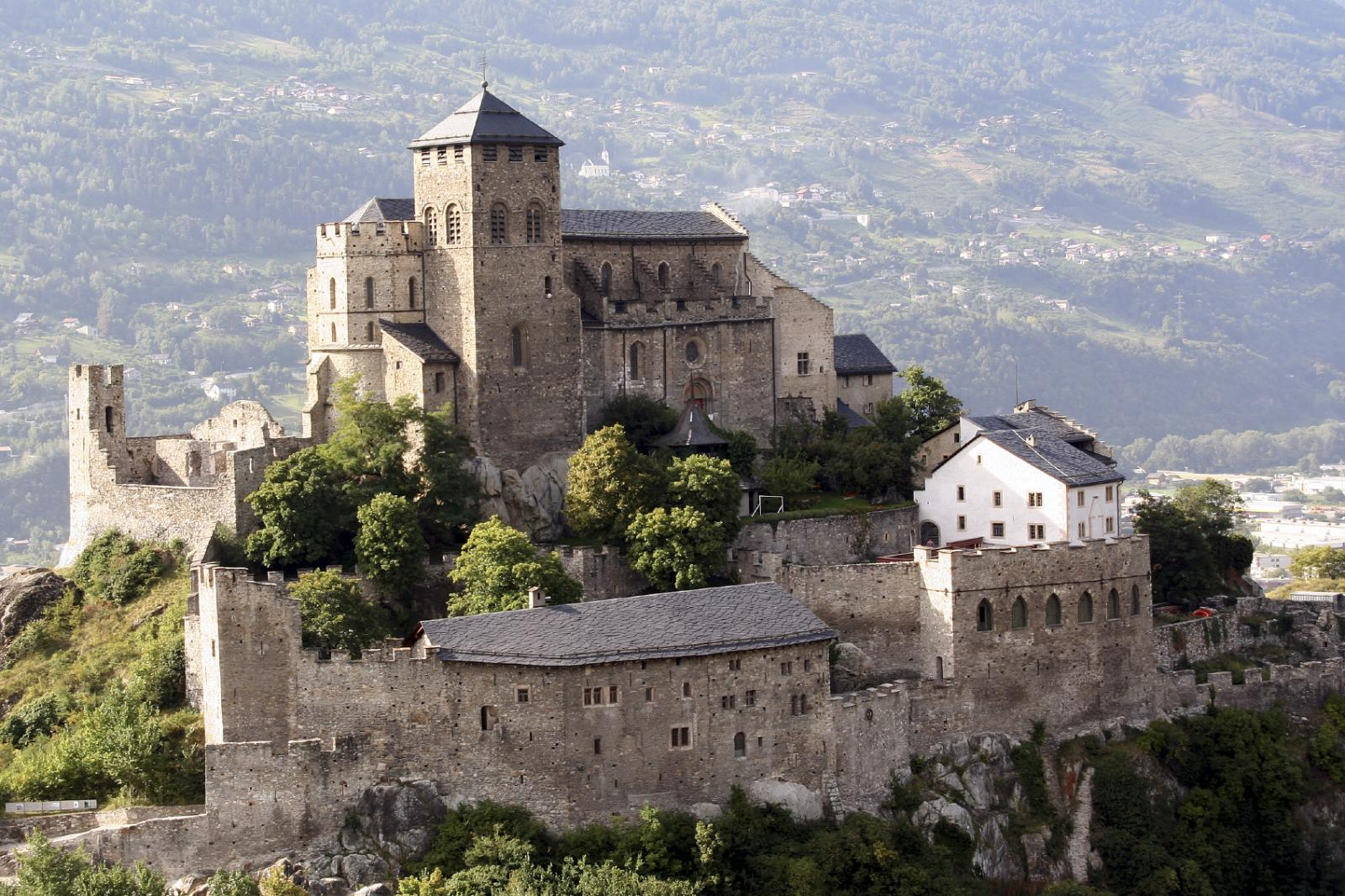 Tourbillon Castle located in Sion