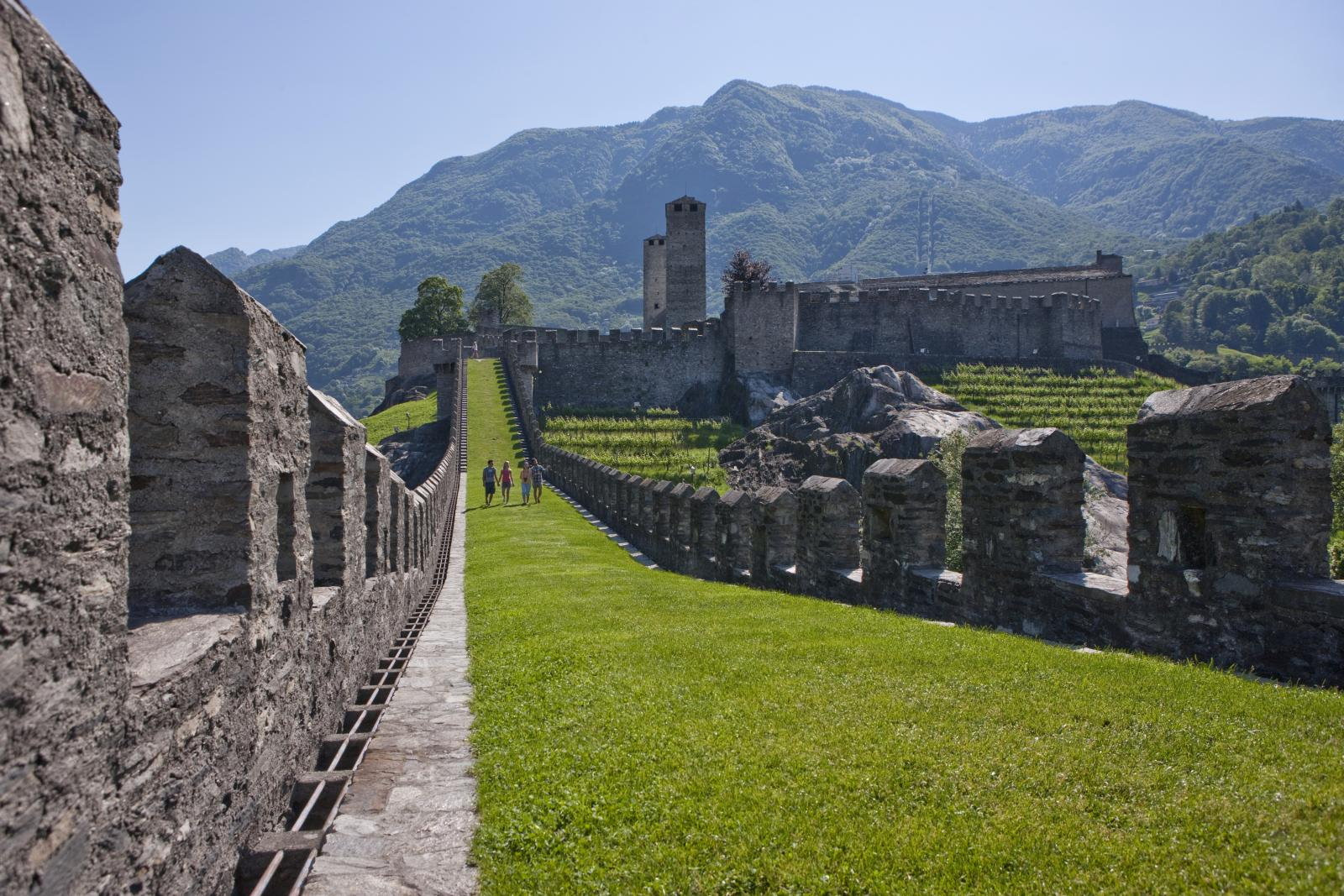 Castlegrande in Bellinzona