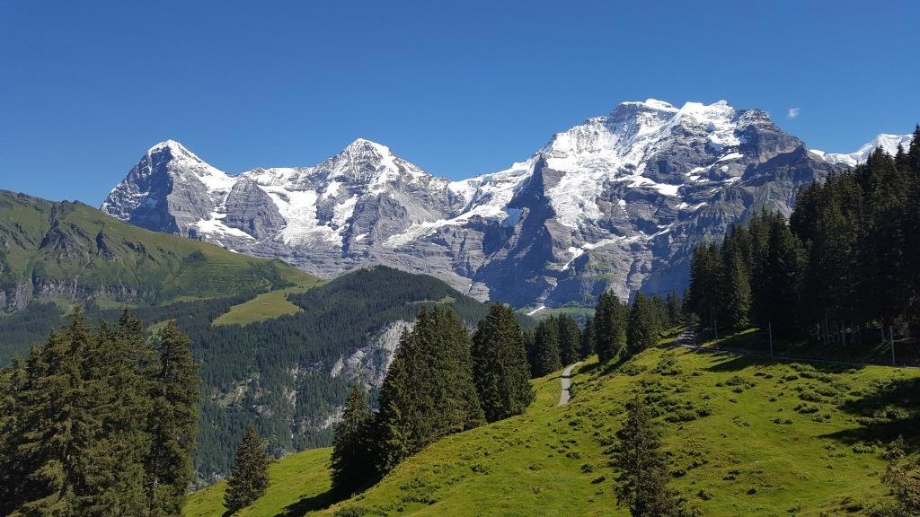 Hiking in the Jungfrau