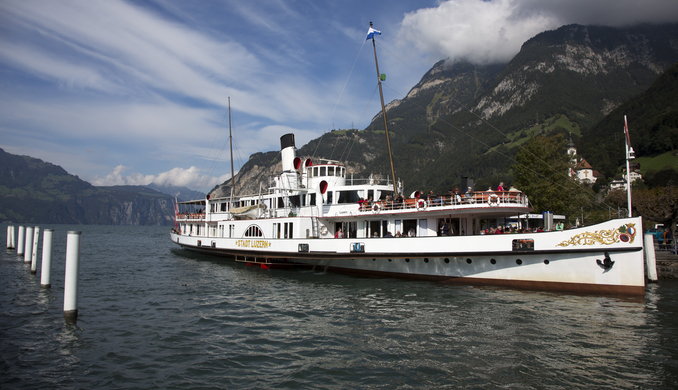 Boat in Switzerland